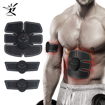 Body Slimming Massager EMS Trainer Wireless Muscle Stimulator Smart Fitness Abdominal Muscle Exerciser Abdominal Training Device wireless abdominal muscle stimulator ems stimulation body slimming weight loss muscle exerciser for abdomen arm training