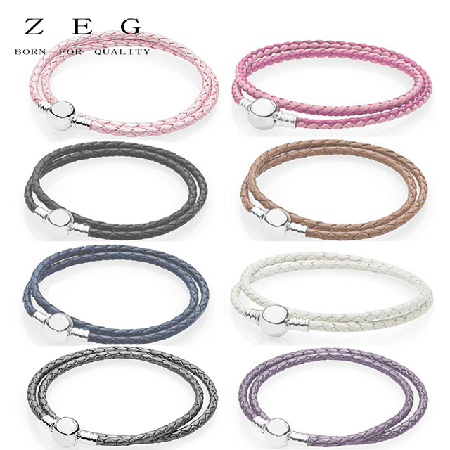 Zeg New High Quality Logo Pan Bracelet Free Package Manufacturers Whole Mail In Bracelets Bangles From Jewelry Accessories On