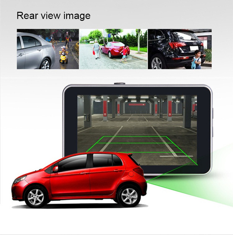 Android Car DVR Camcorder dual lens dash cam drive camera GPS Navigation video recorder Full hd 1080p auto registrator dvr wifi 12