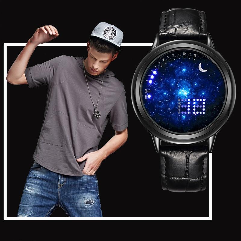 Watches New Digital Touch Screen Led Watch Fashion Men Casual Women Fashion Unisex Wristwatch Male Clock Creative Gift Relogio Masculino
