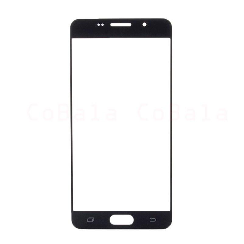 """imágenes para 10 Unids/lote Oro Negro Blanco para Samsung Galaxy A5 2016 A510F A510 Vidrio Delantero 5.2 """"Panel de Pantalla táctil Exterior de la Lente de Reparación de piezas"""