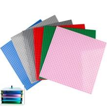 7 Colors 32 32 Dots Base Plate For Small Bricks Baseplate Board DIY Building Blocks Compatible