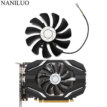 HA9010H12F-Z 85MM 0.57A 2Pin GTX1050 GPU Cooler Fan For MSI Geforce GTX 1050 2G GTX 1050Ti 4G OC Graphic Card Cooling