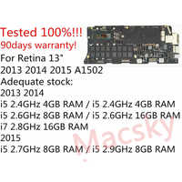 Orignal A1502 Motherboard i5 2.6GHz 8GB i7 2.8GHz 16GB for MacBook Pro Retina 13