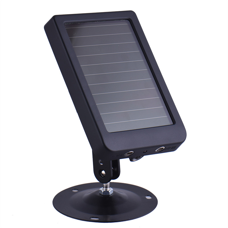 ФОТО Hunting Accessories Solar Panel Charger for Hunting Camera HC300 HC300M HC500A HC500M HC500G Built-in 1500mAH  Lithium Battery