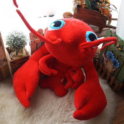 Pop 100cm Cute Soft Animal Crayfish Plush Toys Stuffed Anime Red