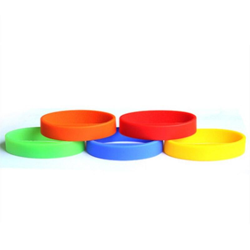 Free Shipping 13.56mhz I-CODE-2  RFID Wristband Bracelet 100pcs/lot