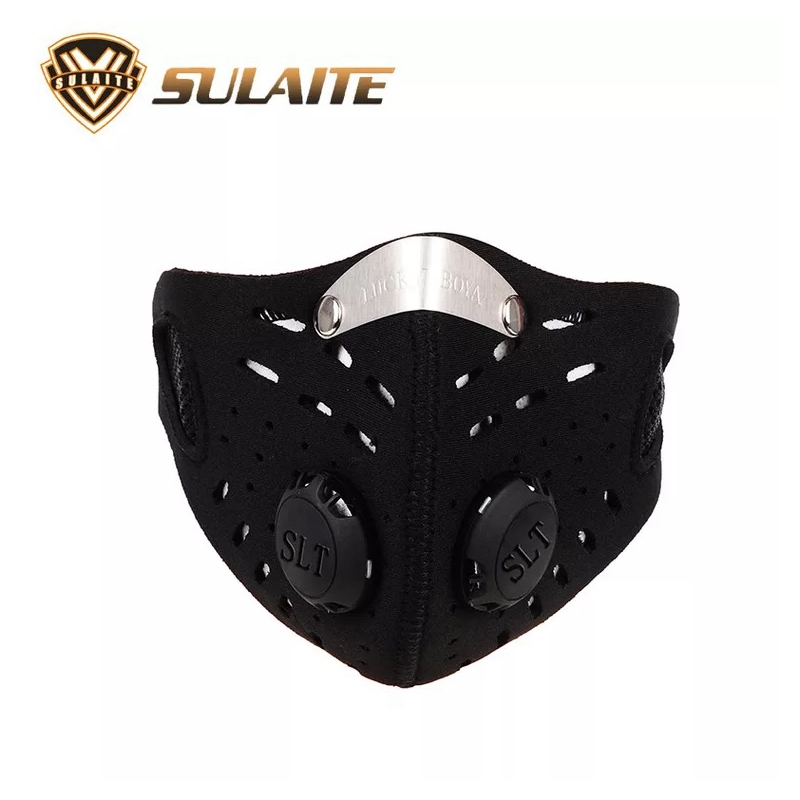 Outdoor Sports Bicycle Mask Carbon Protective Filter Air Pollutant Outdoor Men Cycling Face Masks Half Face Mask Anti-Dust