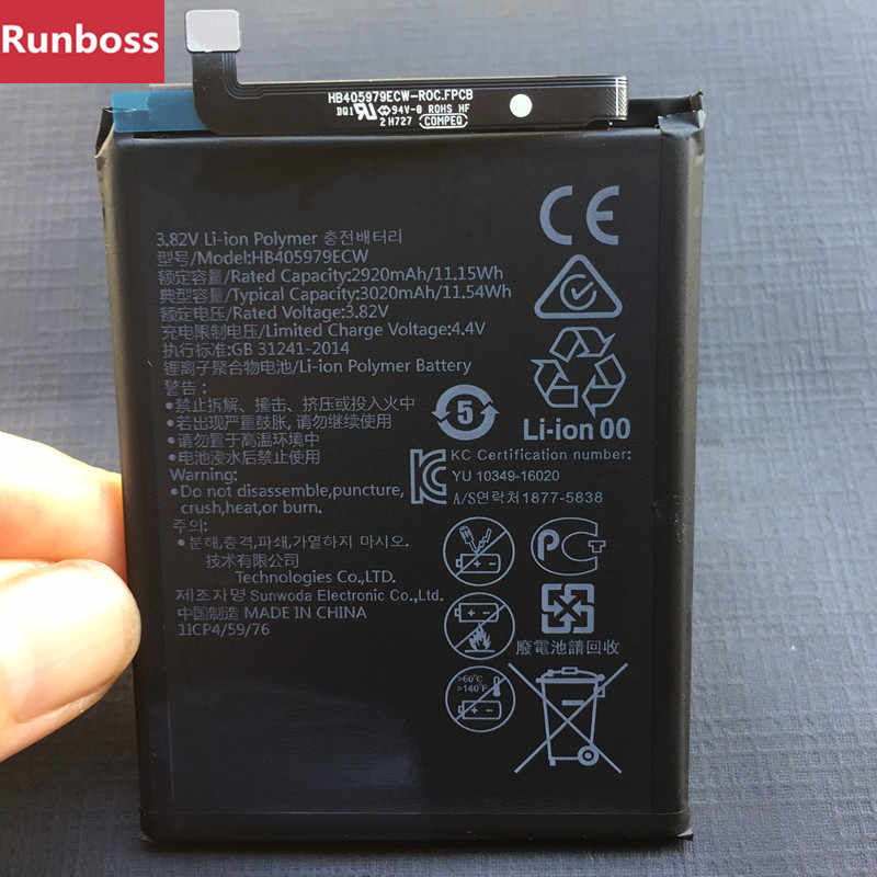 New Original 3020mAh HB405979ECW Battery For Huawei Y6 2017
