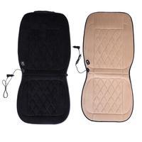 New Car Diamond Cashmere Heating Cushion Car Warmer Seat Cushion Electric Heated Massage Seat Cushion Auto Supplies