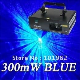 stage lights 300mW Blue disco light for laser show