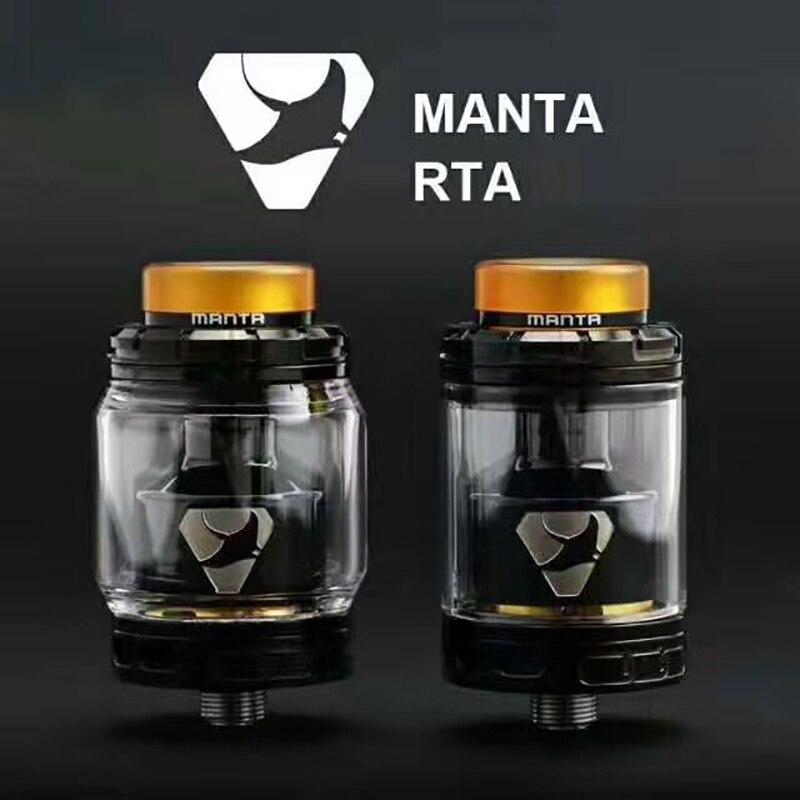 Original Advken Manta RTA Tank Zerstäuber 24mm Durchmesser 5 ml/3,5 ml Kapazität top füllen 510 gewinde elektronische zigarette RTA