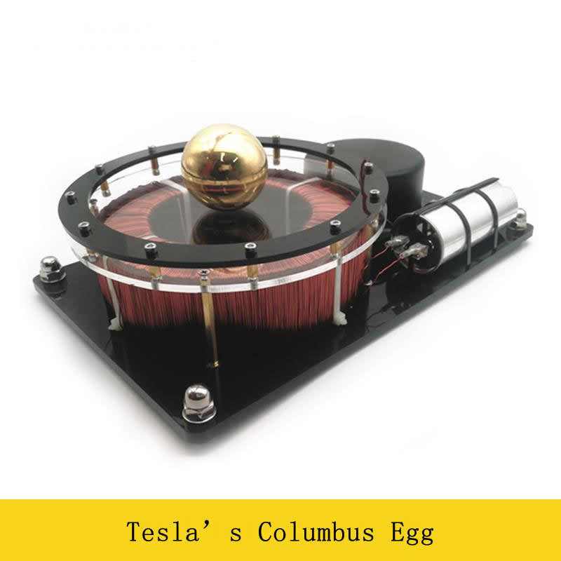 220V 100W Tesla Rotary Eggs Columbus Eggs Single phase AC Motor Rotary Magnetic Field