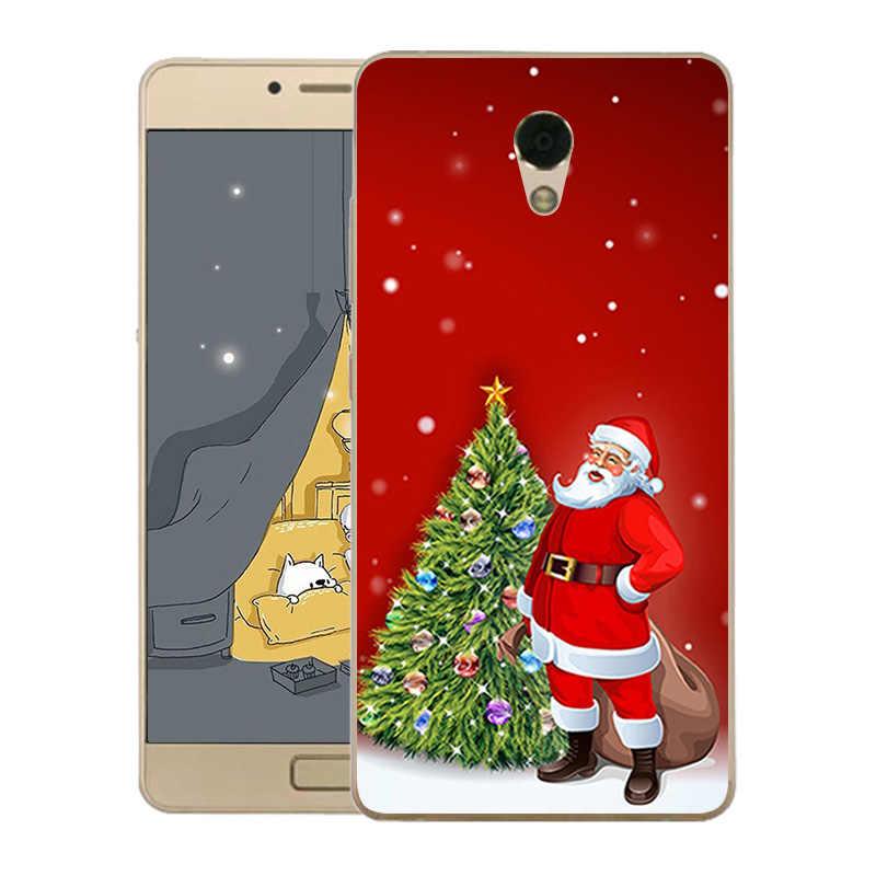 Для lenovo P2 Чехлы для сотовых телефонов из мягкой искусственной кожи Рождественская Пышная юбка-американка с рисунком Elk ДЛЯ lenovo C72 P2c72 P2A40 P2A42 Чехлы для Coque lenovo P2 Fundas