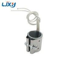 LJXH 2 unids/lote Mica banda calentador de 35x4 5mm/35x5 0mm/35x5 5mm/35x60mm 110V220V380V 150 W/160 W/180 W/200 W de acero inoxidable elemento de calefacción