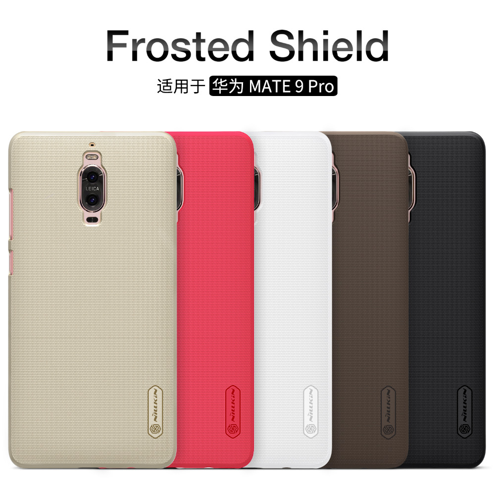 Nillkin cases for Huawei Mate 9 Pro case hard Shield phone cases for Huawei Mate 9 Pro protective cover +