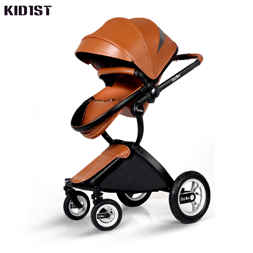 Kid1st Baby Stroller, Cart, High Landscape, Children Can Lie, Sit, Light Folding baby stroller high landscape can sit and lie trolley high quality folding baby cart children s pram