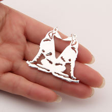 Salukis ожерелье кулон СОБАКА Мемориал ожерелья домашних животных