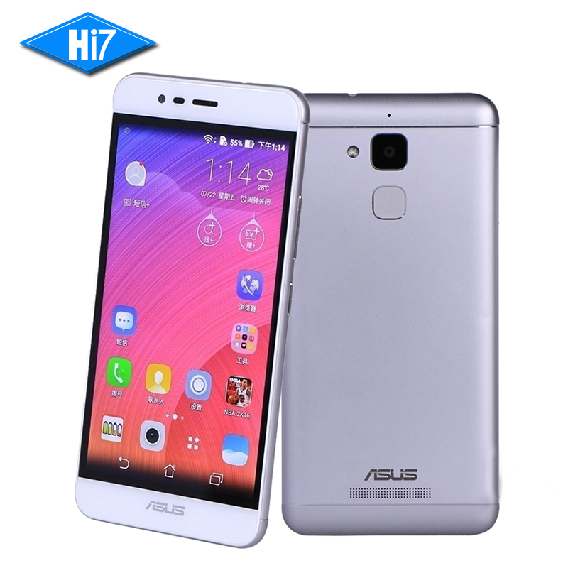 ASUS Zenfone Pegasus 3 X008 Silver Quad Core 5.2 inch Fingerprint ID 3G RAM 32GB ROM 4100mAh Android LTE 4G Original Cell phone