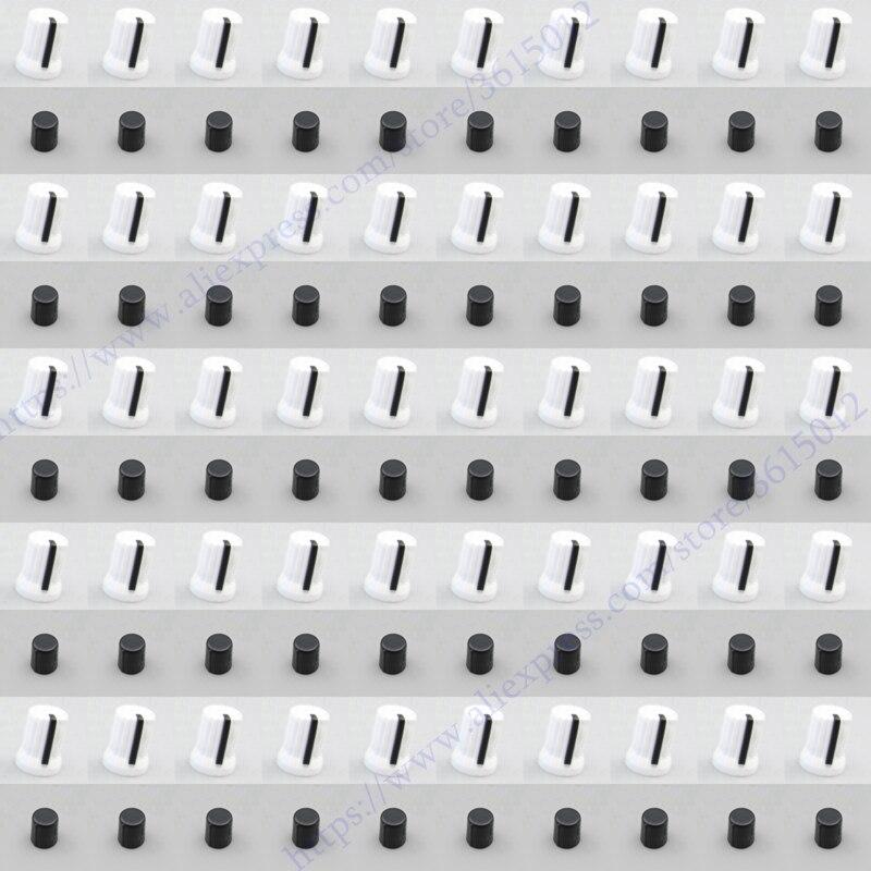 500pcs lot OEM Rotary Control Knob white color For Pioneer DJM T1 S9 DIY DJ XDJ