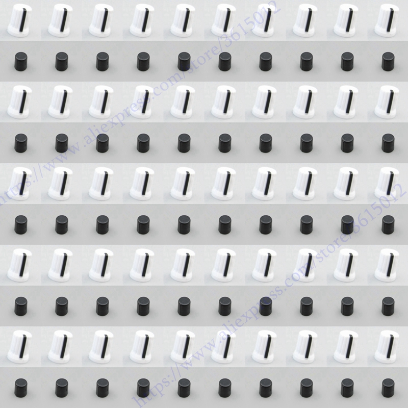 500 stks/partij OEM Draaiknop Knop witte kleur Voor Pioneer DJM T1 S9 DIY DJ XDJ RX R1 RZ AERO-in DJ Uitrusting Accessoires van Consumentenelektronica op  Groep 1