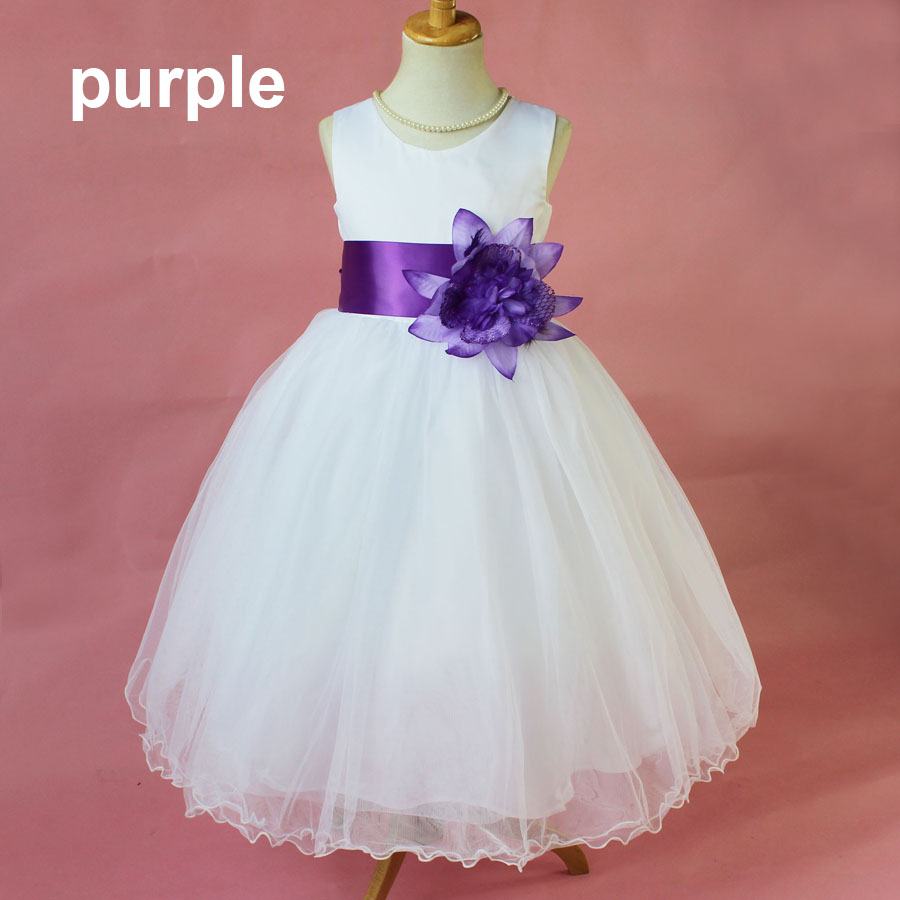 Online get cheap bridesmaid dresses for baby 1 year aliexpress hot sale girl bridesmaid wedding dress size 1 12 years dress up baby girls wedding ombrellifo Gallery