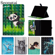 3D Painting PU Leather Stand Case For Samsung Galaxy Tab 4 Tab4 7.0 SM-T230 T230 T231 T235 Smart Cover Flip Tablet Shell Capa стоимость