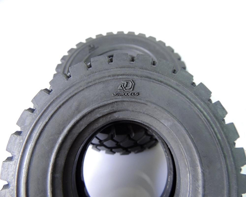100mm 2 pces pneus de borrachapneu para 02