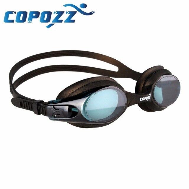 2df5106fc Copozz Miopia Natação Óculos de Natação Óculos Anti Nevoeiro óculos de Proteção  UV Optical Óculos para