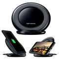 Беспроводное Зарядное Устройство Вертикальной Быстрое Зарядное Устройство Для Samsung Galaxy S7 edge S7 S6 edge Plus S6 Край S6 Примечание 5 Примечание 7 Быстрая зарядное устройство
