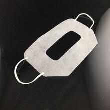 Máscara descartável vr para oculus rift, óculos de realidade virtual para vr, máscara branca protetora de higiene, 100 peças 20*12cm