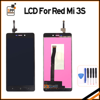 High Quality LCD Display Digitizer Touch Screen Assembly For Xiaomi Redmi 3S Hongmi 3 S Cellphone