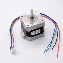 Free shipping 5pcs 4-lead Nema17 Stepper Motor 42 motor Nema 17 motor 42BYGH 1.7A (17HS4401) 3D printer motor and CNC