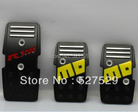 HOT SALE Free Shipping Aluminum Slip Proof MOMO R3000 Racing Car Pedals MT Foot Freadle Manual