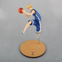 黒子のバスケ黒子なしバスケット喜瀬良太pvcアクションフィギュアコレクタブルモデル玩具22センチKT3303