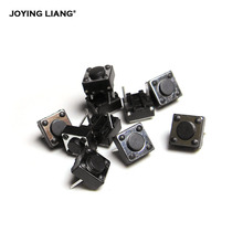 10pcs/lot 6*6*4.3mm Micro Square Switch 6X6X4.3H Two Feet Mini Push Button Switches