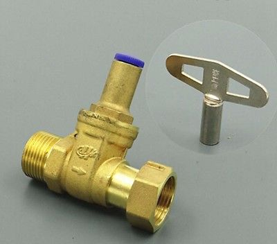 Brass Lock Gate Valve Check Valve Union Socket 3/4 BSP Female-male Thread for Water meter настенные часы mado md 594