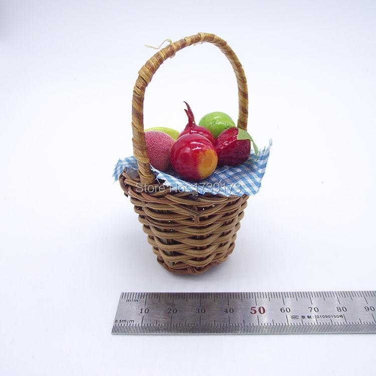 Free Shipping 3D Fruit Woven baskets Fridge Magnet Souvenir ...