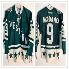 All-Star Western  9 Mike Modano MEN S Hockey Jersey Embroidery Stitched  Customize any number 40a788e6a