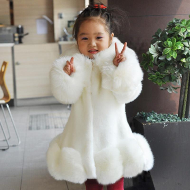 все цены на Toddler Baby Kids Girls Faux Fur Fleece Jacket Snowsuit Warm Coat Outwear Winter онлайн