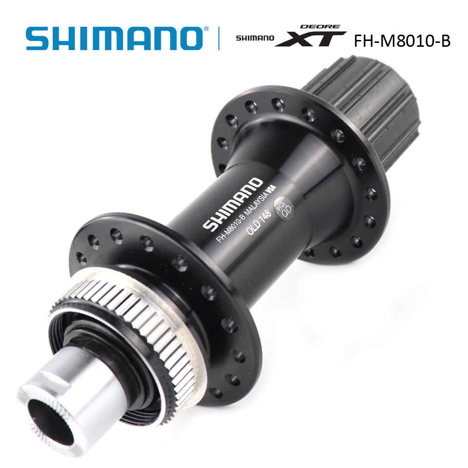 New SHIMANO XT FH-M8010 Rear Hub 12x148mm Boost 32 Holes