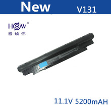 11.1V 5200MAH 6 cell replace Laptop Battery For Dell Inspiron 14Z 14z-N411z N411z Vostro V131 V131D V131R black цены