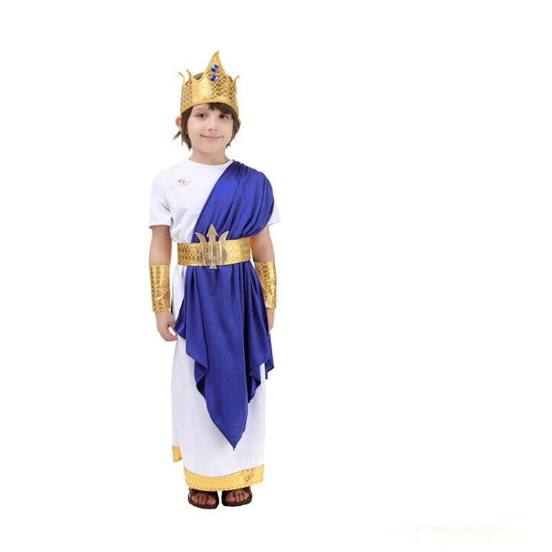 aliexpresscom buy halloween party cosplay costumes poseidon costume for kids halloween costumes for children from reliable cosplay costume suppliers on - Poseidon Halloween Costume