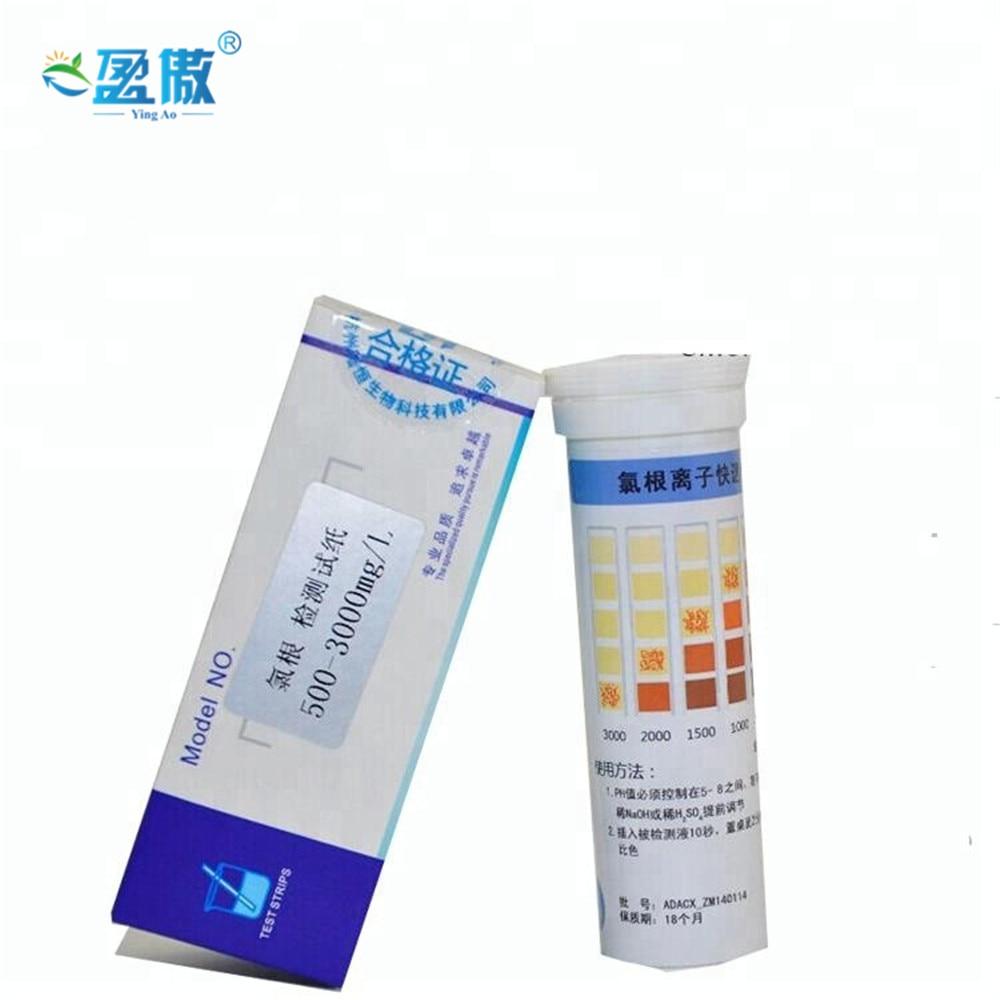 Chlorine Test Paper 100 Strips PH Tester Test Strip Testing