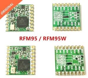 Image 2 - משלוח חינם 2PCS RFM95 RFM95W 868 915 RFM95 868MHz RFM95 915MHz לורה SX1276 אלחוטי משדר מודול המקורי