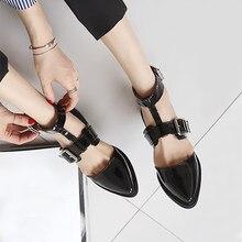 Low-salto das mulheres com 3 cm irmã macio pequenos sapatos de couro com um 85d1423b20b8