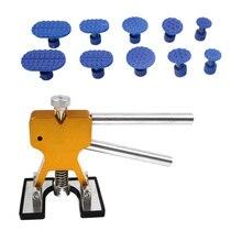Car Hail Glue Puller Tabs Dent Lifter Puller Ding Removal Repair Tools Kits