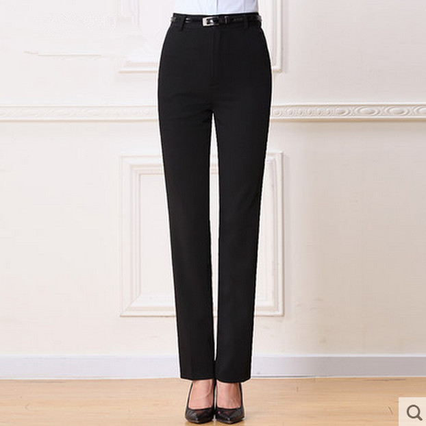 Popular Womens Black Dress Pants Long-Buy Cheap Womens Black Dress ...