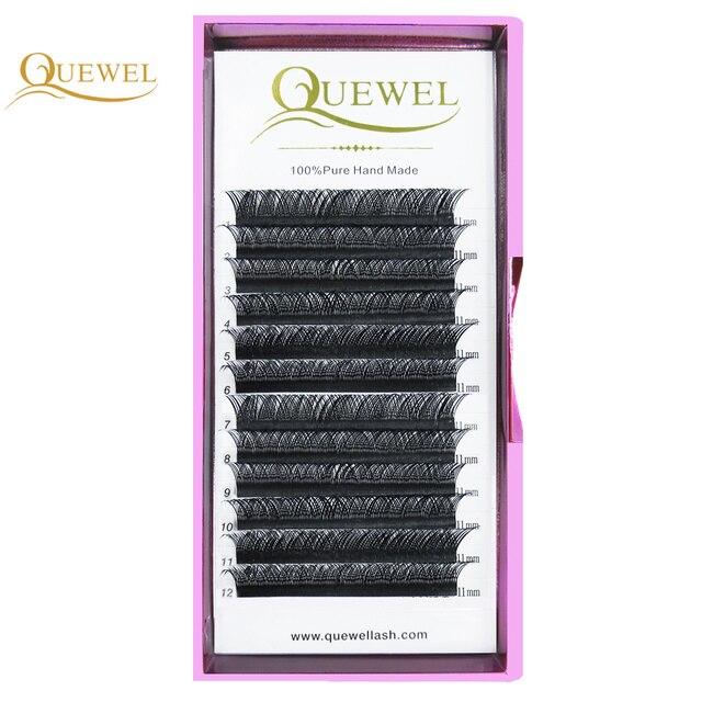 Y Shape Eyelashes Extensions Double Tip Lash Eyelash Cilios Y Natural Easily Grafting Y Style Volume Eye lashes Faux Mink Quewel 3
