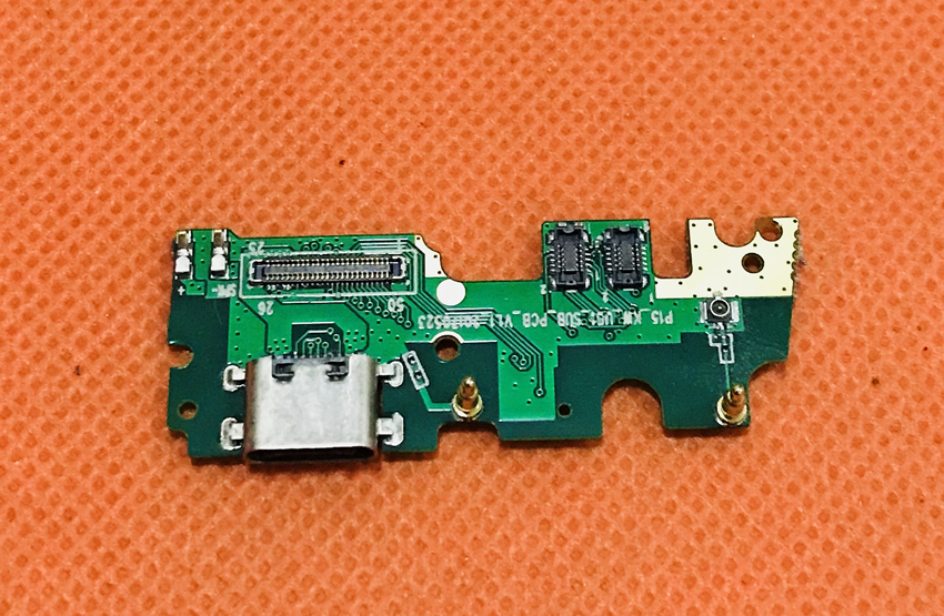 Used Original USB Plug Charge Board For UMIDIGI Z1 Pro MTK6757 Octa Core 5.5 inch FHD Free Shipping